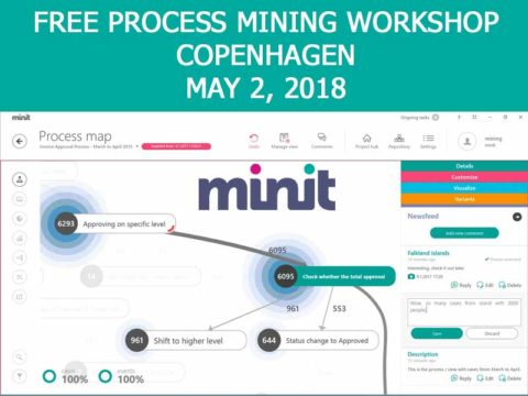Free Process Mining workshop Cph May 2, 2018