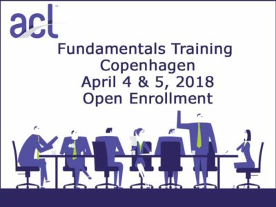 ACL Fundamentals training Copenhagen