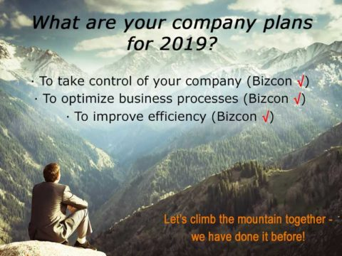 Happy New Year 2019 from Bizcon