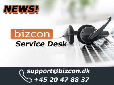 Bizcon new Service Desk now available