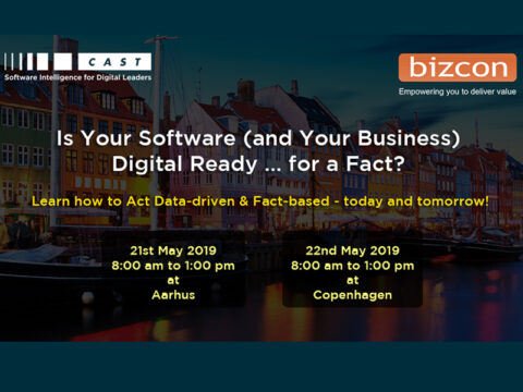 BIZCON & CAST free event Aarhus & Copenhagen - how to act data-driven & fact-based