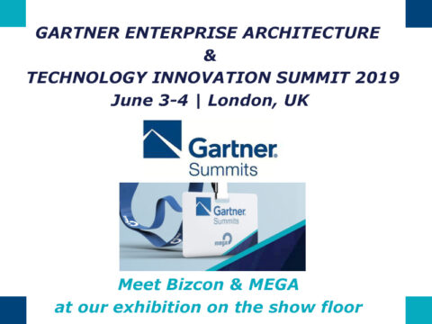 Bizcon & MEGA at the Gartner EA Conference London 2019