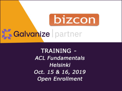 ACL Fundamentals Training Helsinki 15 & 16 Oct., 2019, free enrollment