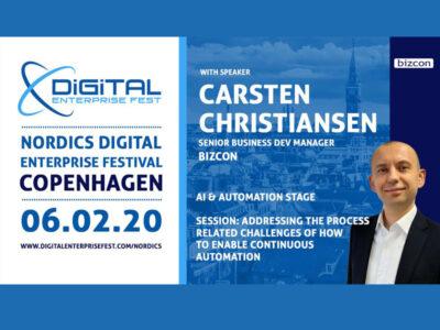 Meet us at Nordics Digital Enterprise Festival Copenhagen