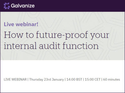 Learn how to future-proof your internal audit function