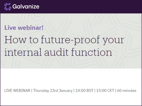 Webinar - how to future-proof your internal audit function
