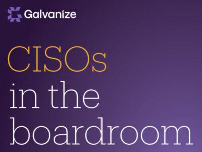 The CISO is running faster than ever
