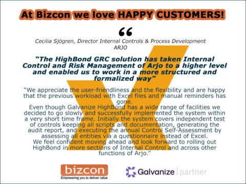 Customer Reference Bizcon HighBond
