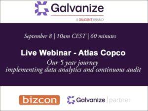 Live webinar – Atlas Copco's Analytics Journey